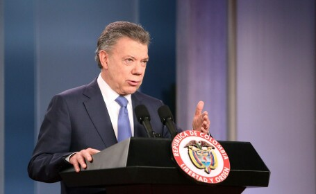 Juan Manuel Santos - Agerpres