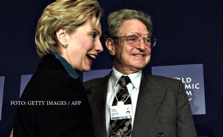 George Soros si Hillary Clinton