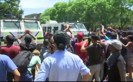 proteste in Africa de Sud