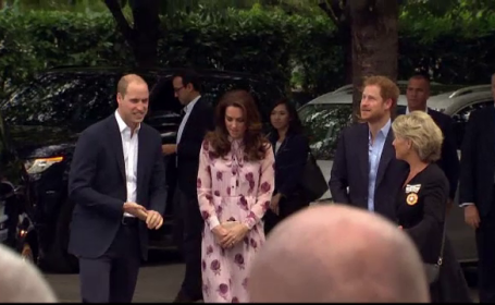 Kate, William si Harry