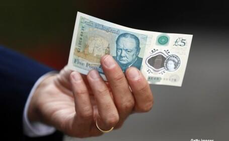 noua bancnota de cinci lire