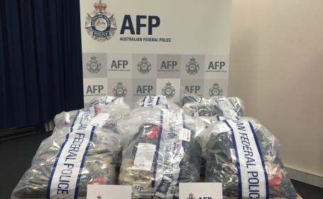 Cea mai importanta captura de droguri din acest an, in Australia. Unde au gasit politistii drogurile de 110 milioane dolari