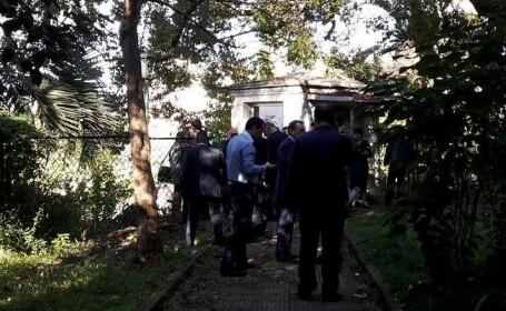 Un barbat s-a aruncat in aer in sediul televiziunii de stat din Georgia. \