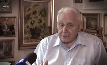 Trupul lui Radu Campeanu, depus in foaierul Senatului. Declaratiile lui Ion Iliescu despre fostul sau rival politic