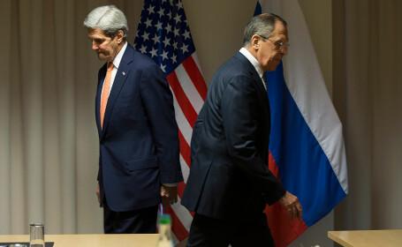 Serghei Lavrov catre John Kerry: Voi faceti la Mosul exact ce facem noi la Alep