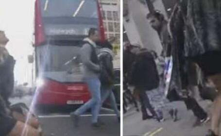 Scenele care i-au ingrozit pe londonezi. Ce pateste aceasta tanara, in plina strada, si nimeni nu o ajuta