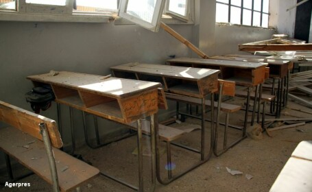 22 de copii si 6 profesori morti, dupa un atac aerian in Siria. Reactia Moscovei, dupa ce Franta a spus ca Rusia e vinovata