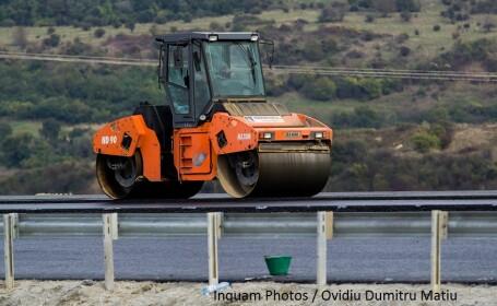 lucrari santier autostrada