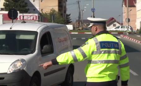 Amenzi de peste 1,8 mil. de lei, date într-o zi de polițiști. 288 de şoferi au rămas fără permis