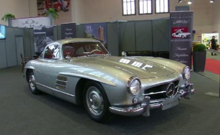 Târg de mașini clasice la Berlin. Una din cele mai scumpe trece de 2 mil de euro
