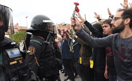 Madrid cere iertare public Cataloniei pentru violențele de la referendum