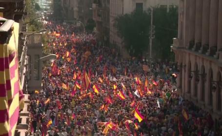 Liderul Cataloniei nu dă înapoi. Ce a anunțat cu o zi înainte de discursul din Parlament