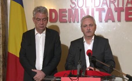 Dragnea şi Tudose, aşteptaţi cu huiduieli la şedinţa CEx al PSD: \
