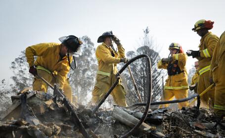 Bilanțul victimelor incendiilor din California a ajuns la 36. Mărturiile pompierilor