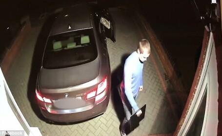 Mașină furată în 60 de secunde. Cum au reușit doi hoți să plece cu un BMW de lux