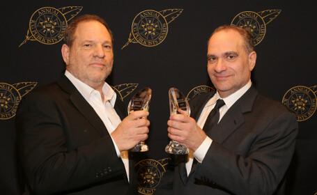 """Fratele lui Harvey Weinstein, acuzat de hărțuire sexuală, se declară """"dezgustat"""" de faptele acestuia"""