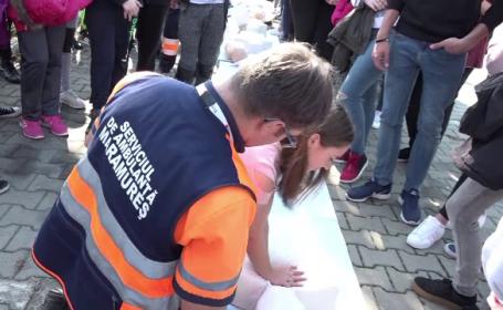 Ziua Europeană a Resuscitării: elevii, învățați să acorde primul-ajutor