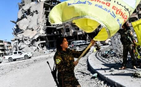 Jihadiștii ISIS alungați din Raqqa
