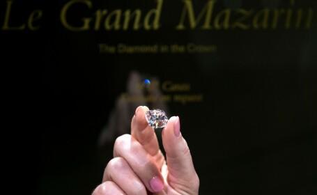 Un diamant roz, care i-a aparținut lui Napoleon, scos la licitație după 130 de ani