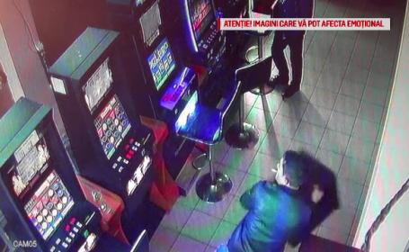 Supărat că i s-a defectat aparatul de păcănele, un bărbat a făcut dezastru într-un bar din Roman