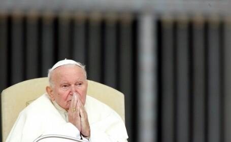 Procesiune cu relicvele Sfântului Papă Ioan Paul al II-lea, în Bucureşti