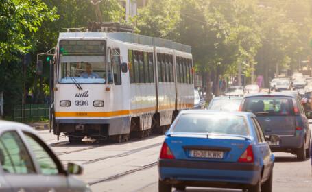 Un hoţ de buzunare a primit interdicţie de a folosi transportul în comun din Bucureşti timp de 3 ani
