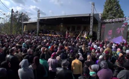 Peste 3000 de oameni au participat la înscăunarea noului episcop de Huși
