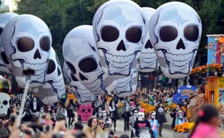 Día de los Muertos / Ziua Morţilor, sărbătorită în Mexic
