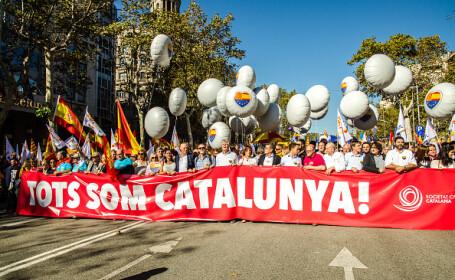 miting pentru unitate in barcelona - 2