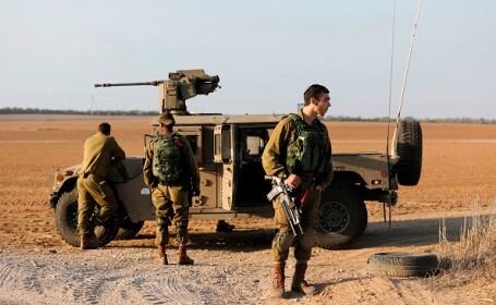 """Israelul a detonat un tunel de pe granița Fâșiei Gaza. """"Suntem pregătiți pentru o varietate de scenarii"""""""