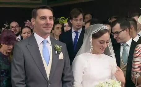 Imagini de la nunta fostului Principe Nicolae. Peste 200 de invitați au petrecut la Cazinoul din Sinaia
