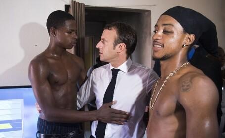Reacția lui Macron la adresa unui tânăr ieșit din închisoare pentru furt. VIDEO