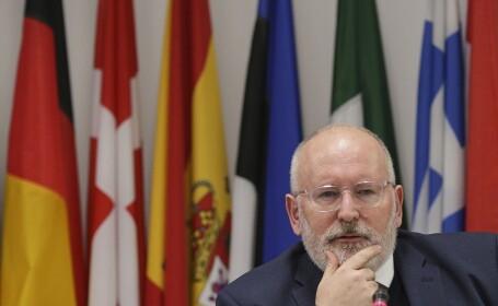 Situaţia din România, discutată la Strasbourg. Timmermans: \