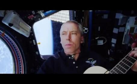 Un astronaut de pe ISS a înregistrat o melodie în timp ce era în spaţiu