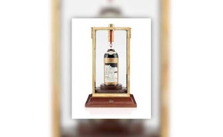 Un colecționar a plătit 1,1 milioane de $ pentru o sticlă de whiskey