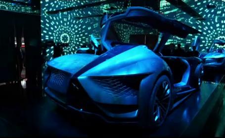 Mașini parcă venite din viitor la Salonul auto de la Paris