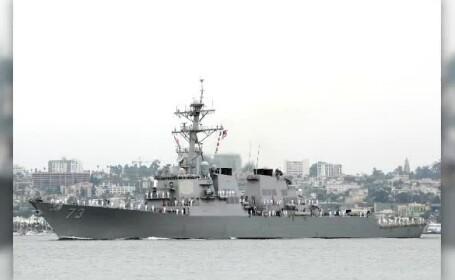 Incident în apele disputate ale Mării Chinei de Sud, între două distrugătoare din China și SUA