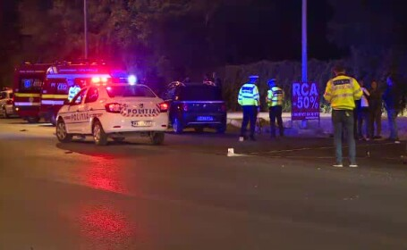 Un bărbat a murit lovit de un autoturism în timp ce traversa strada, în București