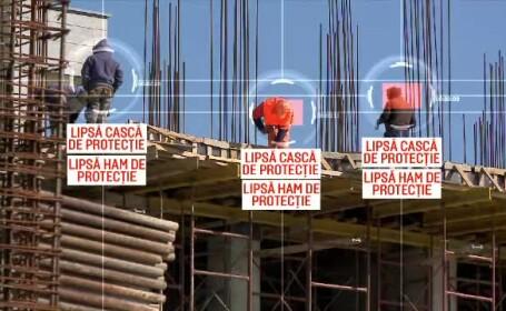 Mii de accidente, din cauză că muncitorii nu poartă echipament de protecţie. \