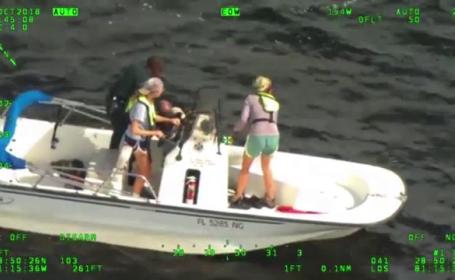 Salvare spectaculoasă a unui pescar. Cum a supraviețuit bărbatul
