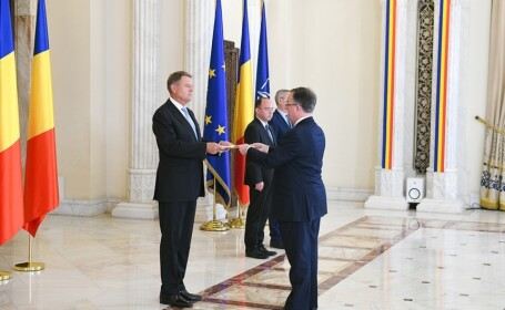 Klaus Iohannis i-a primit pe noii ambasadori ai Marii Britanii, Muntenegrului şi Danemarcei