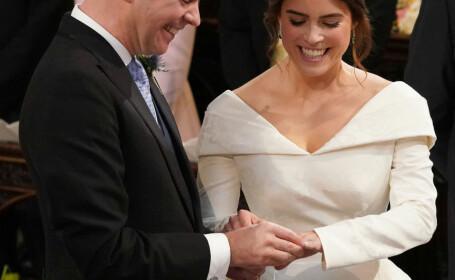 Prințesa Eugenie, nepoata Reginei Elisabeta a II-a, s-a căsătorit vineri