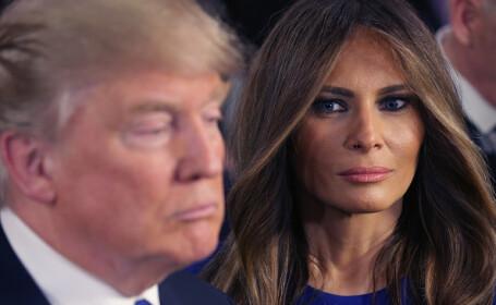 Răspunsul dat de Melania Trump atunci când un jurnalist o întreabă dacă își iubește soțul