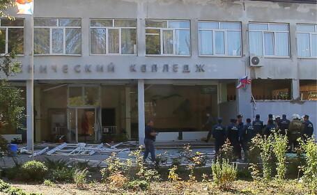 Noi imagini șocante cu masacrul de la liceul dintr-un oraș din Crimeea. FOTO