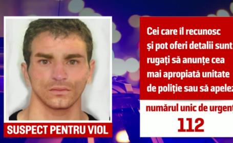 Polițiștii bucureșteni fac apel la cetățeni pentru găsirea unui bărbat suspectat de viol