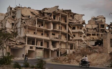 ruinele orasului Ariha din Idlib