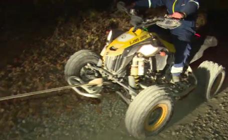 Un tânăr din Dâmbovița a murit după ce s-a izbit cu ATV-ul într-un cap de pod