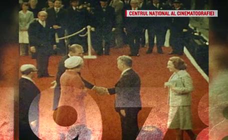 """""""100 de ani în 100 de zile"""". 1978: Cuplul Ceauşescu, primit de Regina Elisabeta a II-a"""