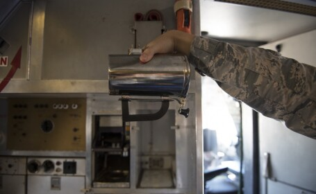 cana speciala de cafea a aviatiei SUA