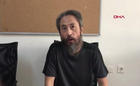 """Jurnalist japonez eliberat din Siria, la 3 ani după ce a fost răpit: """"Când nu mai poți de durere, nu-i pasă nimănui"""""""